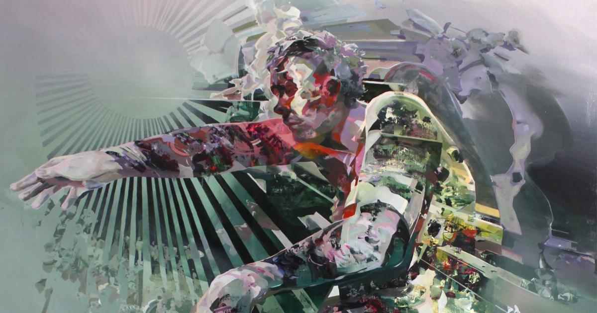 Narrative Dramas Unfold in Robert Proch\u0027s Multi-Dimensional Glitched