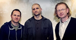 China Mieville, Joseph D'Lacey and Mark Morris