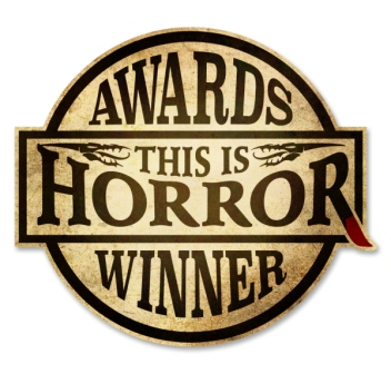 this is horror award winners stamp