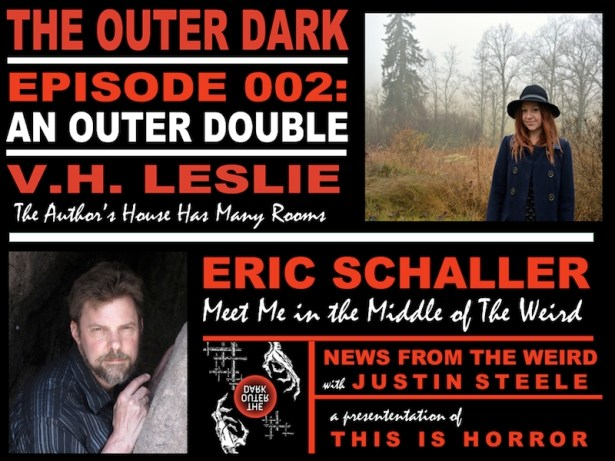 TOD 002 Eric Schaller Meet Me in the Middle of the Weird VH Leslie The Authors House Has Many Rooms