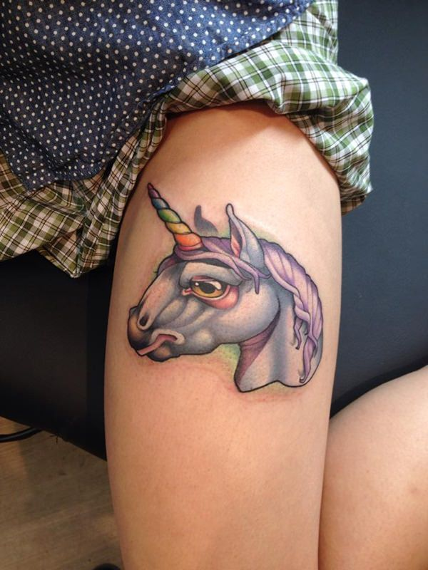 75 unicorn tattoos that are the stuff of legend
