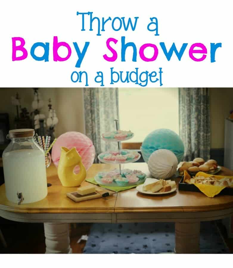 Baby Shower on a Budget This Mama Loves