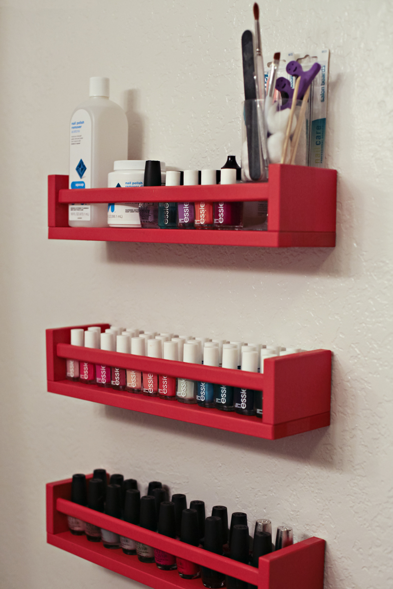 Diy Ish Nail Polish Rack This Mom39s Gonna Snap