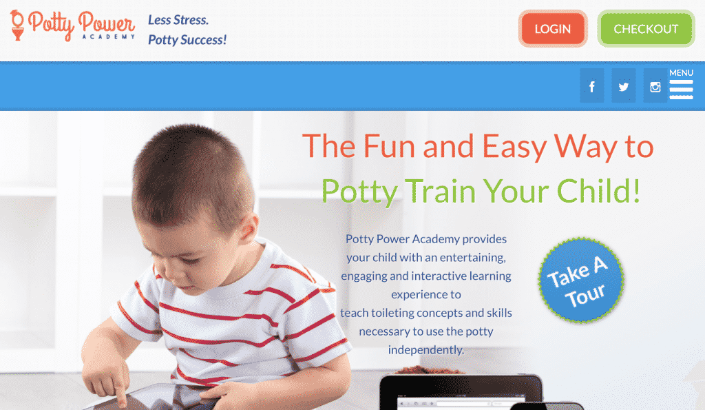 Potty Train with Ease & Fun with Potty Power Academy! #SummerGuide