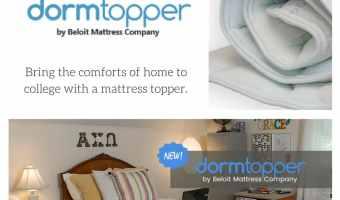 Enter to win a DormTopper @DormTopper #College #DormLife