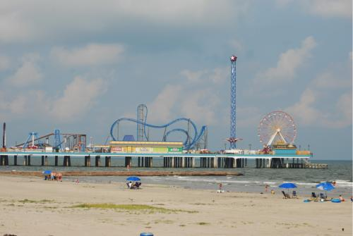 Pleasure Pier on Galveston Island