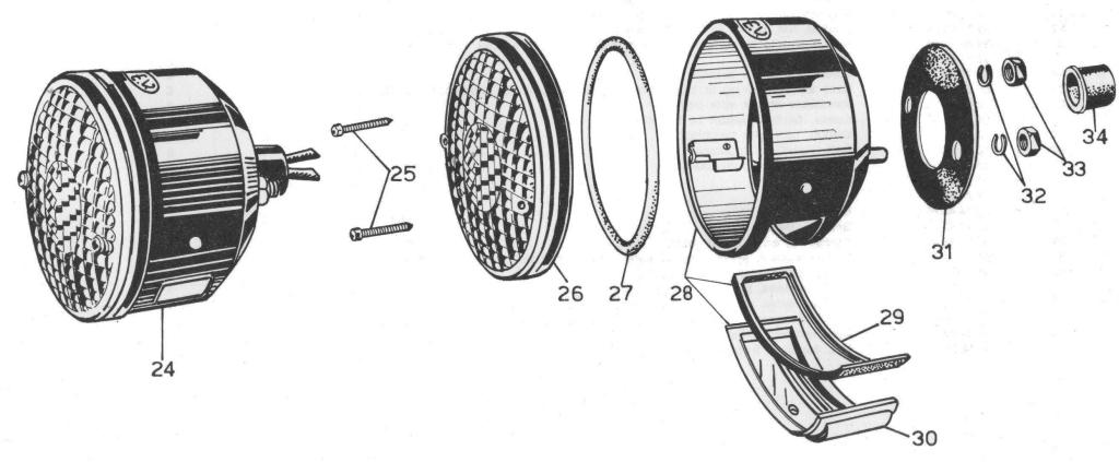 moto guzzi parts loop frame wiring harnesses moto guzzi wiring