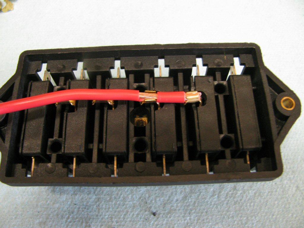 car fuse box crimps