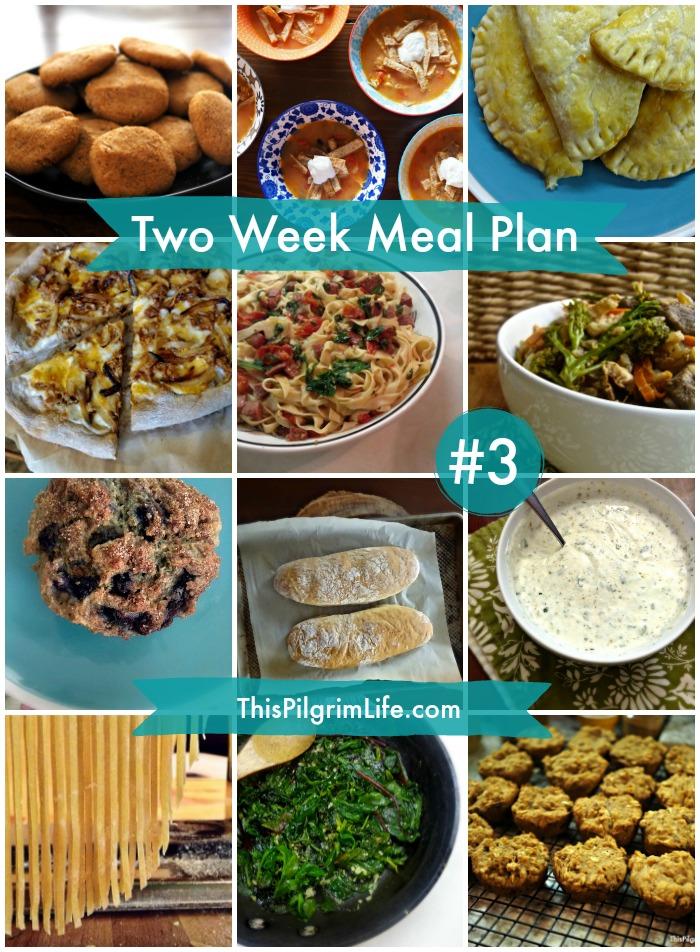 Two Week Meal Plan #3 - This Pilgrim Life
