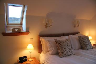 Room 2 – Osprey. Woodland and countryside views. Tam Dubh Wood