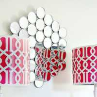 How To Make a Wall Mirror (and Be Brilliant At the Same Time)