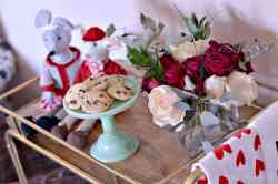 Showy Love Valentine S Day Decorations Pinterest Valentine S Day Decorations Easy Valentines Day Decor Celebrating Day Home
