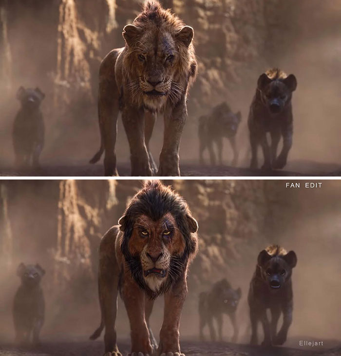 the lion king movie poster artist