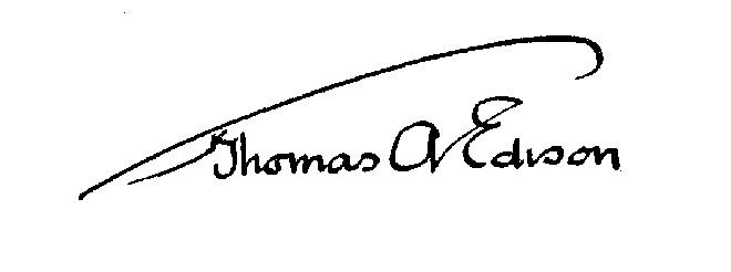 thesis statement of thomas edison