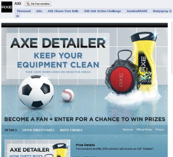 AXE Fanpage