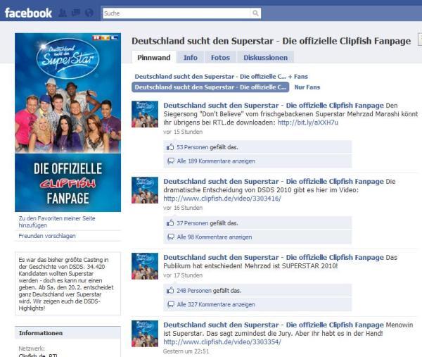 Offizielle DSDS Fanpage