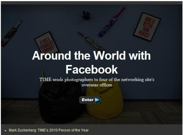 Arround the World with Facebook