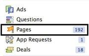 """Menüpunkt """"Pages"""" oder """"Seiten"""" in der linken Navigation"""