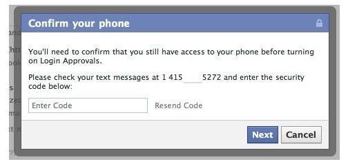 Verifizierung via SMS-Code