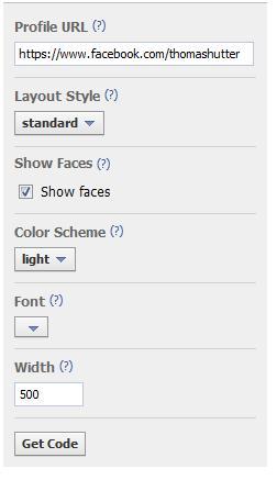 Konfigurator für den Subscribe-Button