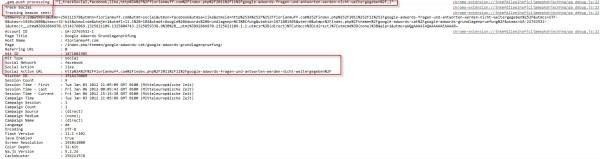 Korrekte Weitergabe der Trackingdaten mittels dem Google Analytics Tracking Beacons