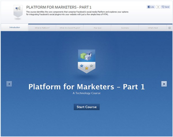 Platform for Marketers - Part 1 - Introduction