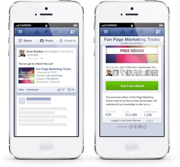 Dropify auf mobilen Endgeräten