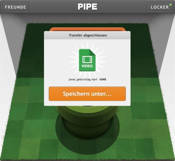 Pipe (Quelle: pipe.com)
