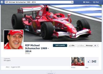 RIP Michael Schumacher