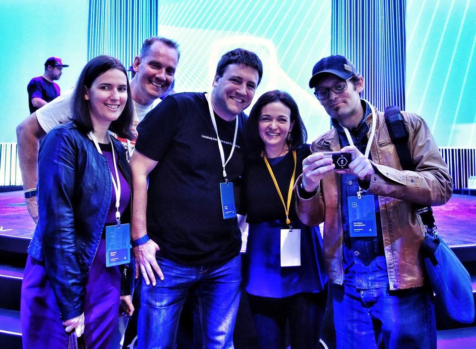 COO von Facebook: Sheryl Sandberg (Foto von Curt Simon Harlinghausen)