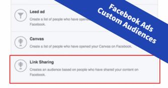 Aktuelle Möglichkeiten der Custom Audiences