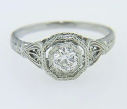 Small Of Vintage Engagement Rings