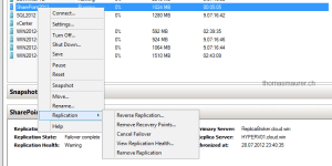 Hyper-V Replica Reverse Replication