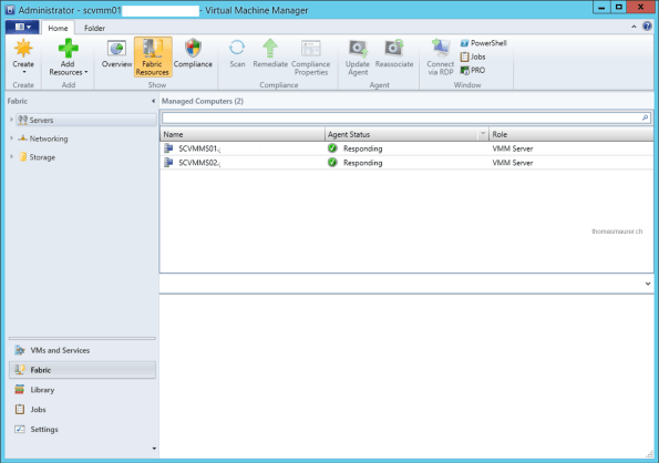 VMM Console