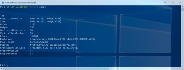 PowerShell Get-Clipboard Image