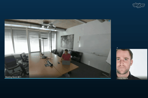 Surface Hub Skype for Business