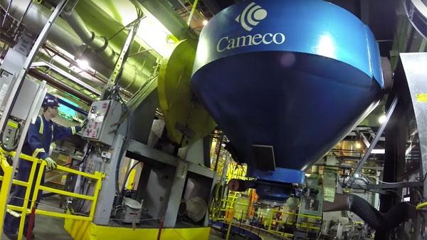 Cameco, the largest western uranium producer.