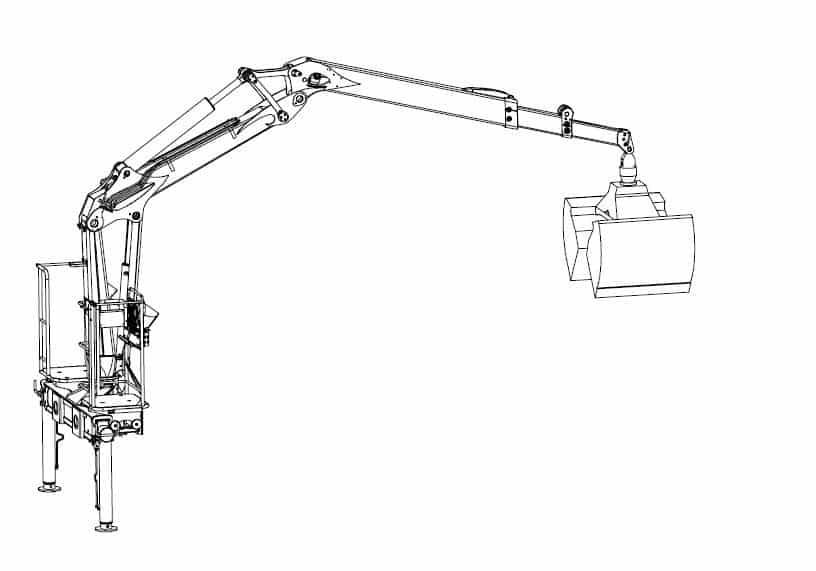 Well Hydraulic Crane Parts Diagram On Palfinger Crane Wiring Diagram