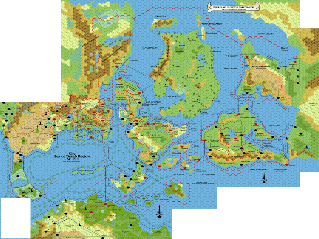 A hacked together version of all four 72 mile per hex maps