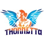 This is the official logo for Thornetta: The Musical, designed by Mike Erway based on a photograph taken by Michael Poehlman.