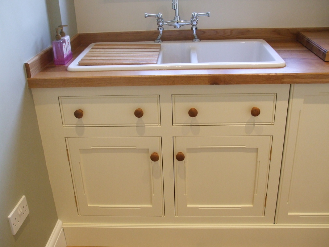 utility kitchen mdf kitchen cabinet doors The moulding on the doors was required to match the existing kitchen cabinet doors in the adjoining room Solid oak worktop with moisture resistant mdf