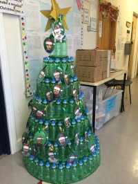 christmas tree decorations using recycled materials ...