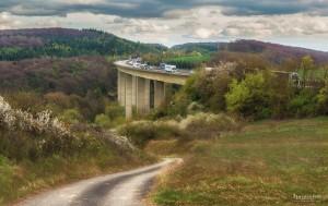 Autobahnbrücke bei Warburg