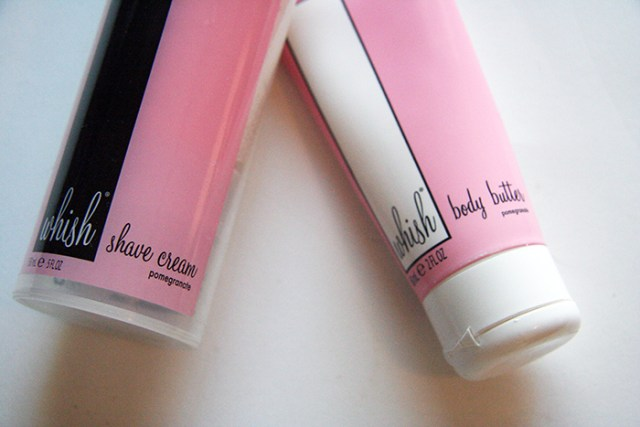 Whish Body Butter and Shave Cream