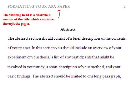 Apa Formatting For Headings And Subheadings