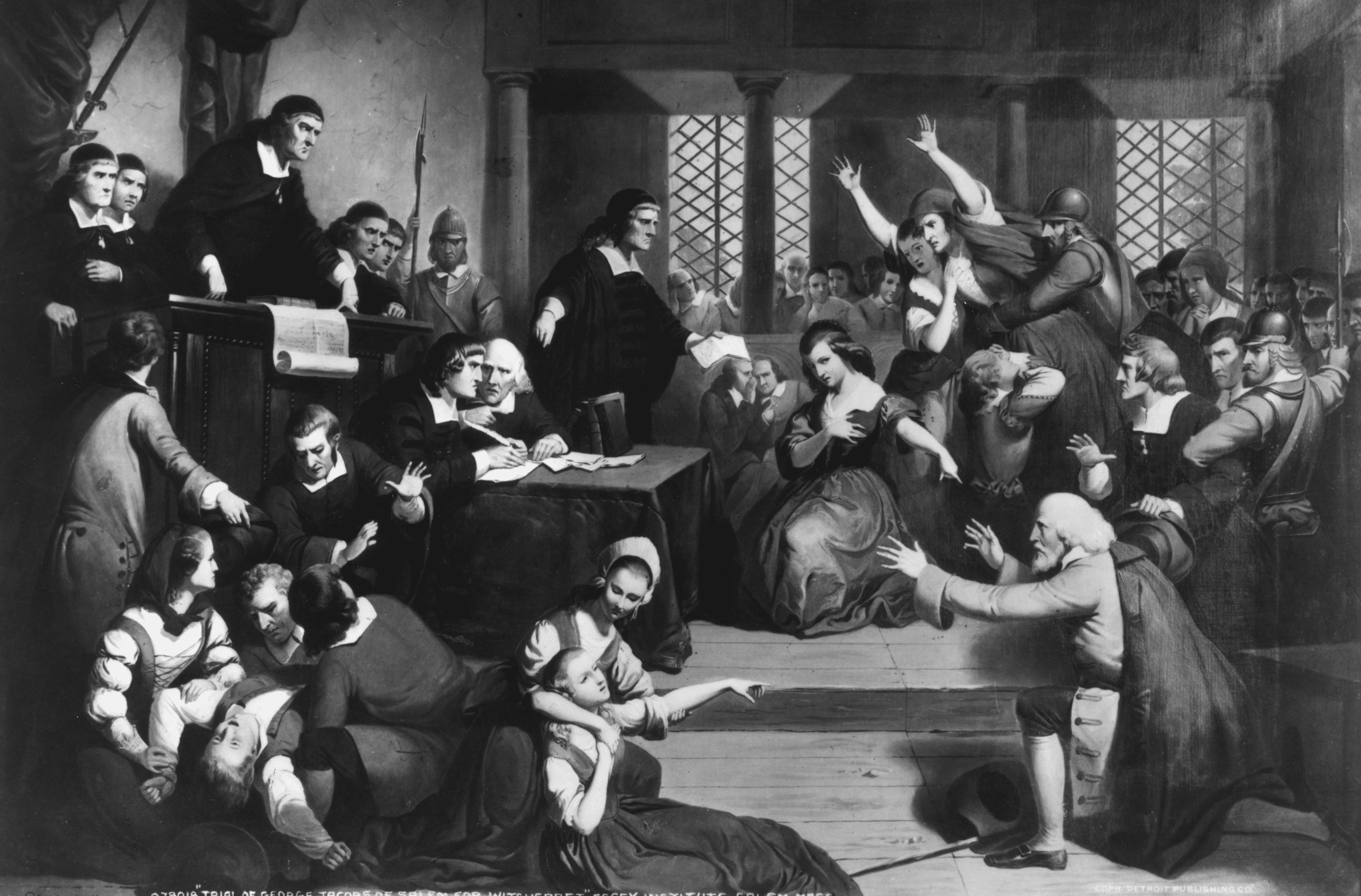 Salem Witch Trials Timeline Follow The Events
