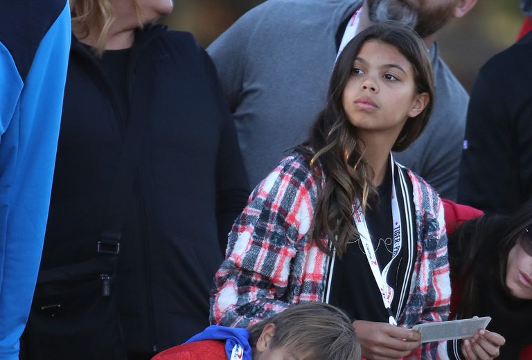 latest pictures of tiger woods daughter sam