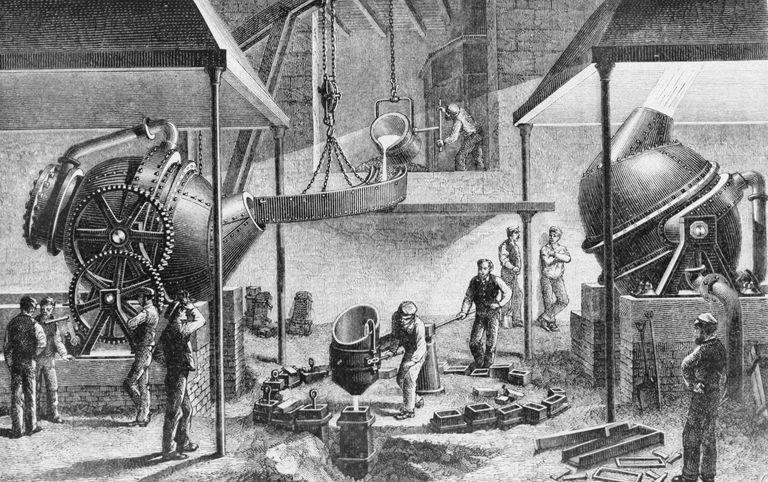 Definition Of Bessemer Steel Process