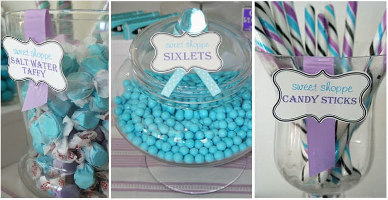 Sweet Shoppe Candy Themed Party - Thoughtfully Simple