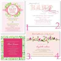 Pink & Green Baby Shower | Thoughtfully Simple